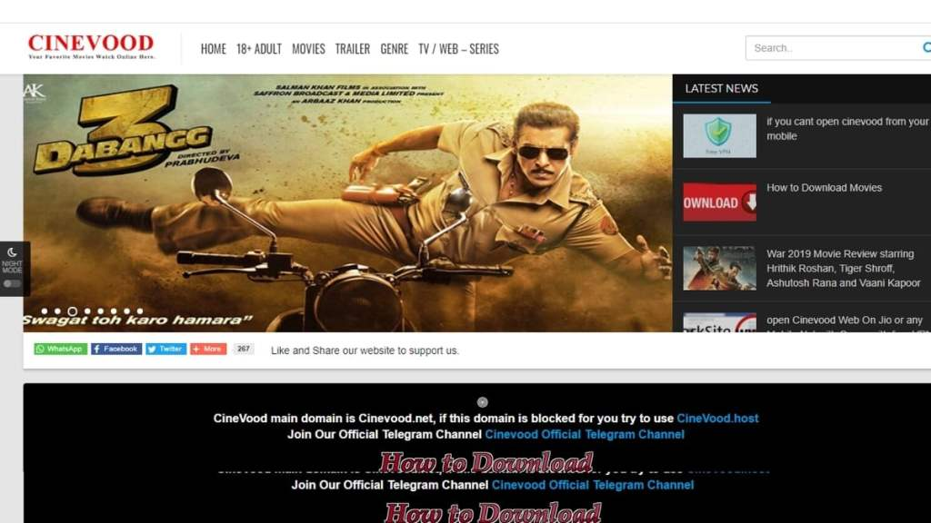 Cinevood 2021: Illegal Bollywood Movies Download, Cinevood is a piracy website which allows users to download Bollywood movies online illegally. Watching or downloading movies from Cinevood is an act of piracy., Cinevood, Cinevood online, download Bollywood movies, Cinevood 2021