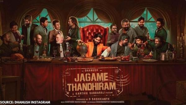 Dhanush plays a 'notorious' rural thug in Karthik Subbaraj's Jagame Thandhiram; see teaser