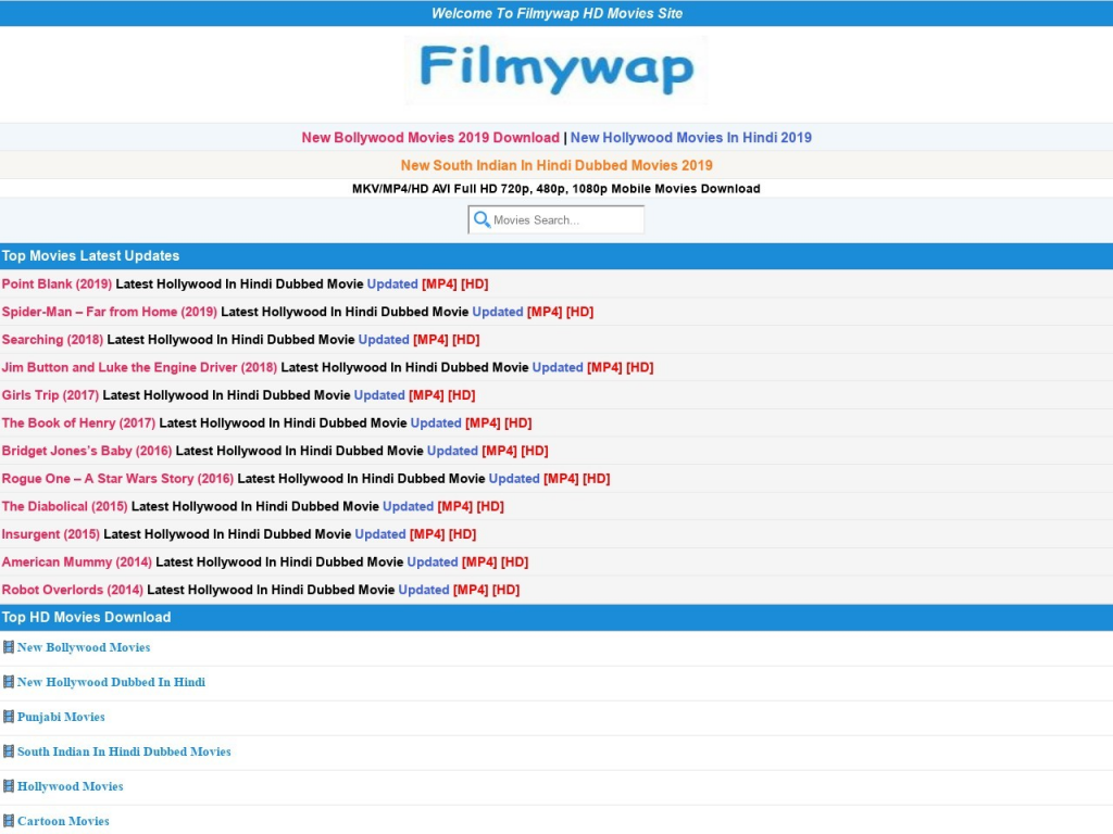 Filmywap 2021 - Illegal HD Movies Download Website, Filmywap is an Indian torrent website which allows users to download movies online illegally. Downloading movies from Filmywap is an act of piracy., filmywap