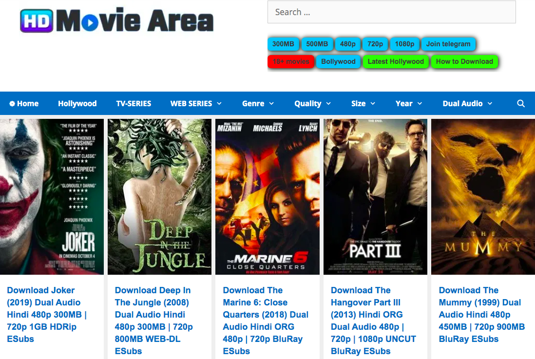 Hdmoviearea 2021 - Illegal HD Movies Download Website, Hdmoviearea is an Indian torrent website which allows users to download movies online illegally. Downloading movies from Hdmoviearea is an act of piracy., hdmoviearea, hdmoviearea movies, hdmoviearea movie download, hdmoviearea 2021 movies