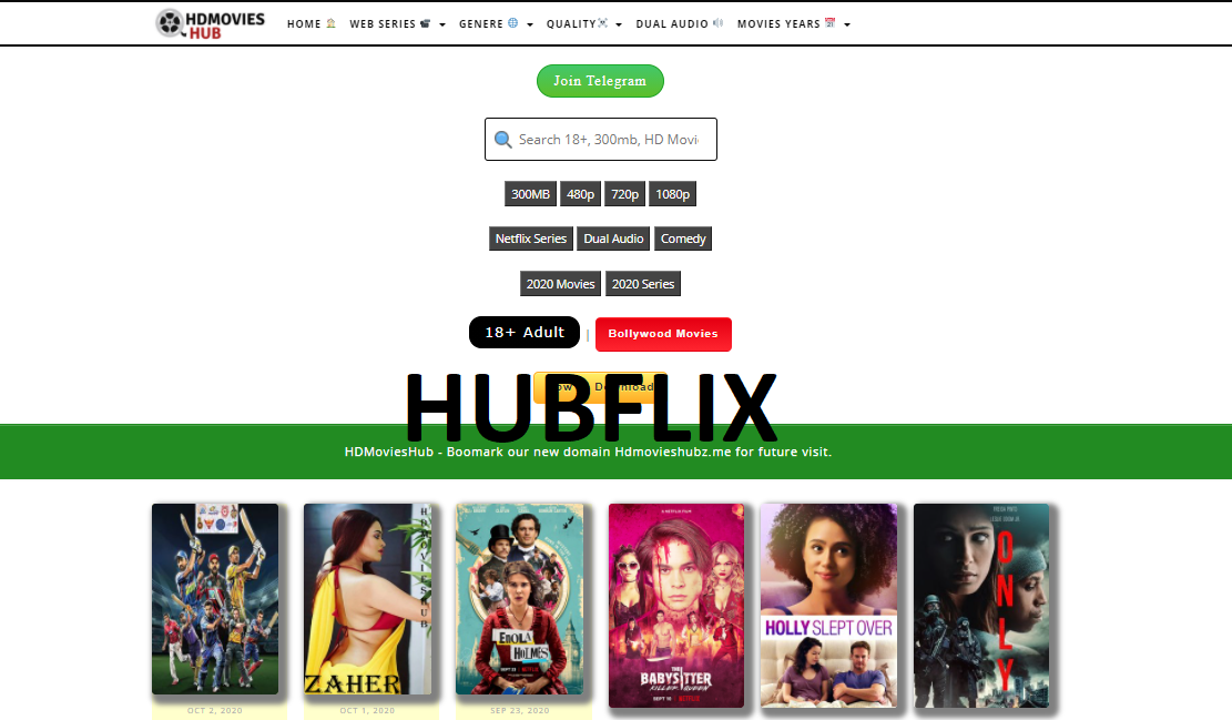 HubFlix 2021: Illegal Hollywood Movies Download Website, HubFlix is an international piracy website which allows users to download Hollywood movies online illegally. Watching or downloading movies from HubFlix is an act of piracy., HubFlix, HubFlix online, download Hollywood movies, HubFlix 2021
