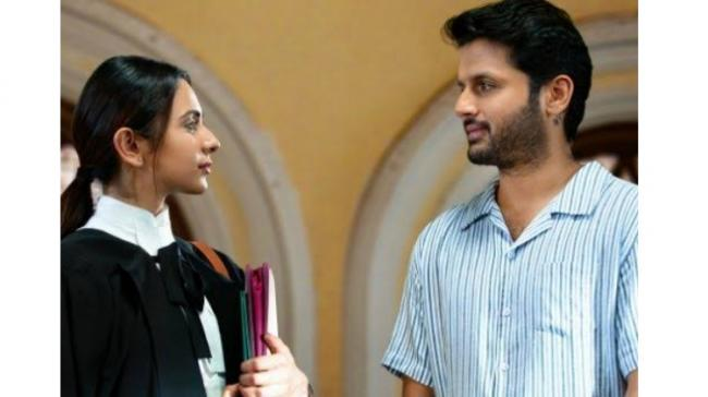 Nithiin's Check Is A Gripping Thriller, Good Marks For Director!