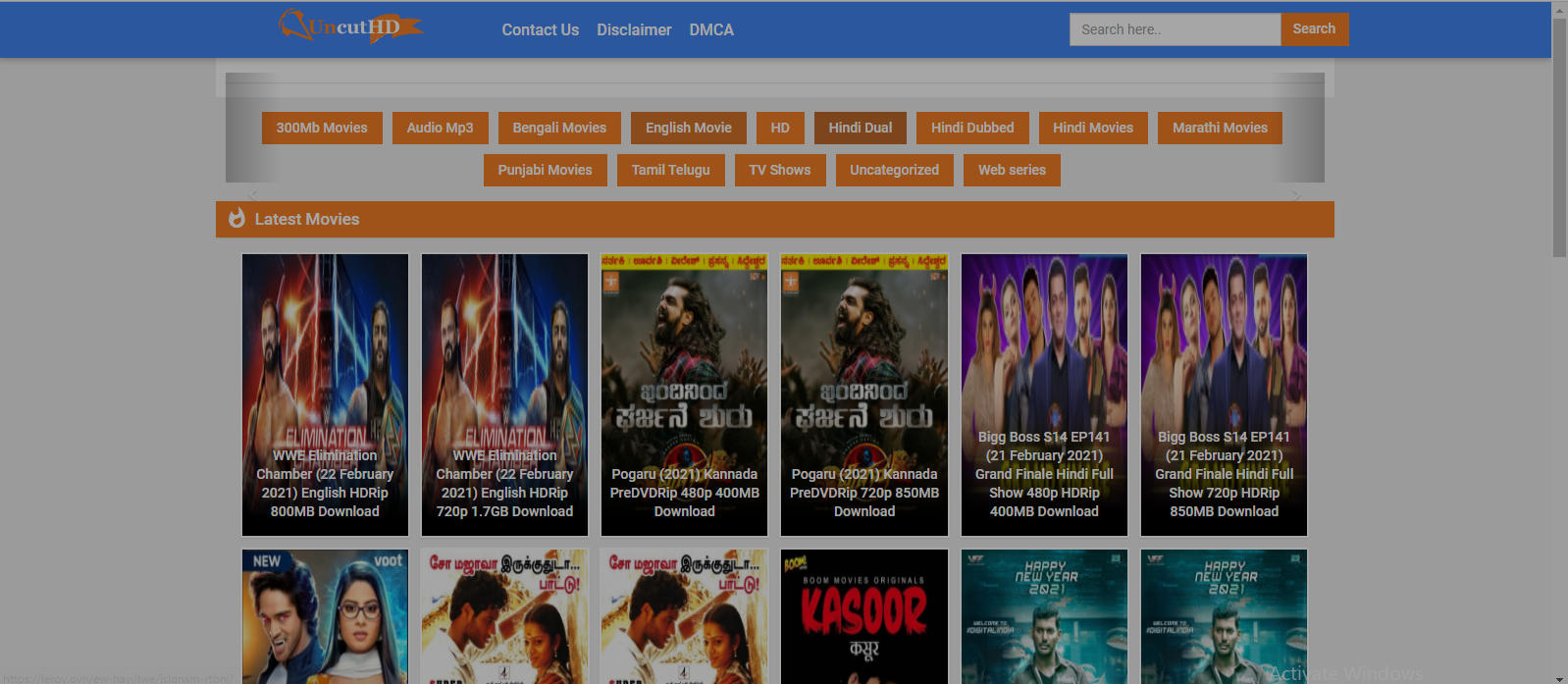 Uncuthd 2021: Illegal Movies Download Website Uncuthd, Uncuthd is a piracy website which allows users to download Bollywood movies online illegally. Watching or downloading movies from Uncuthd is an act of piracy., Uncuthd, Uncuthd online, download Bollywood movies, Uncuthd 2021