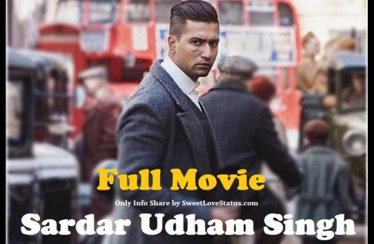 Sardar Udham Singh Full Movie Download 720p Filmyzilla, Filmywap
